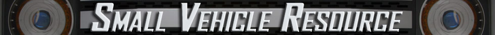 Small Vehicle Resource Blog