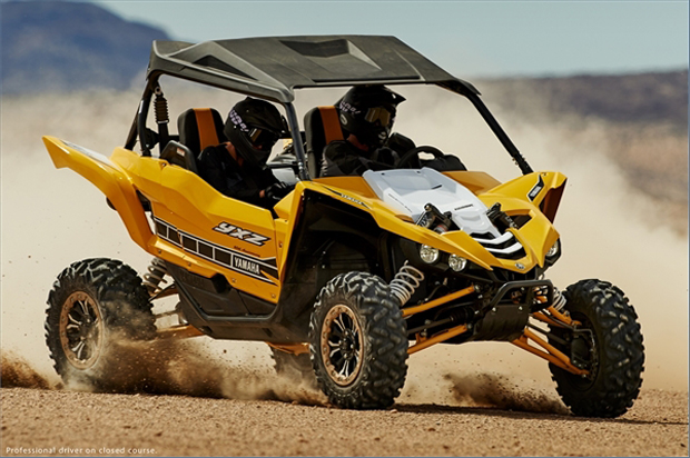"The new Yamaha YXZ1000 targets the ""pure sport"" side-by-side segment, with an eye toward dune riding."