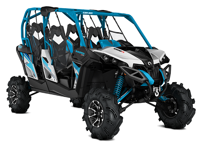 The Maverick Max X mr 1000r builds out Can-Am's high performance line with a four passenger model.