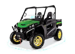 The RSX860i utility vehicle being recalled by John Deere.