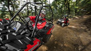 At the entry level is the Polaris ACE 500 with a 32 hp engine.