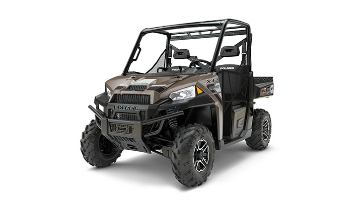 The Ranger XP 1000 EPS in Nara Bronze.