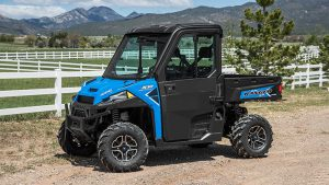 The Northstar special edition version of the new Ranger XP 1000 lineup features EPS and a full cab with HVAC.
