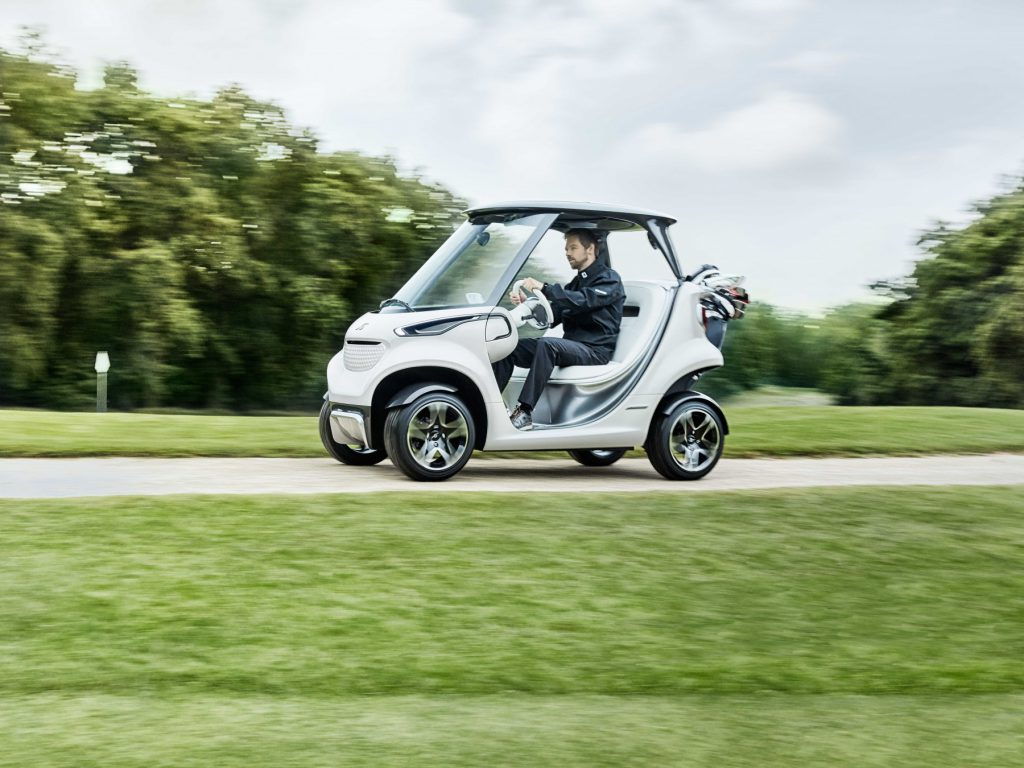 Garia Mercedes-Benz Style Edition Golf Car