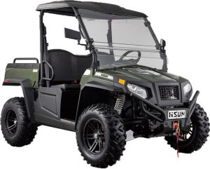 The new Sector E1 electric UTV from Hisun Motors.