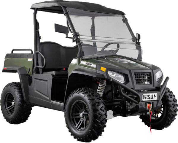 hisun motors introduces electric utv with 45 mile range small vehicle resource blogsmall. Black Bedroom Furniture Sets. Home Design Ideas