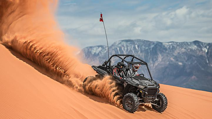 The 2017 RZR XP Turbo EPS raises the bar with 168 hp.