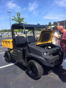 Hustler MDV utility vehicle