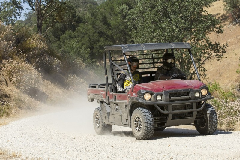 2016 Kawasaki Mule Pro FX on test ride at Paso Robles, CA