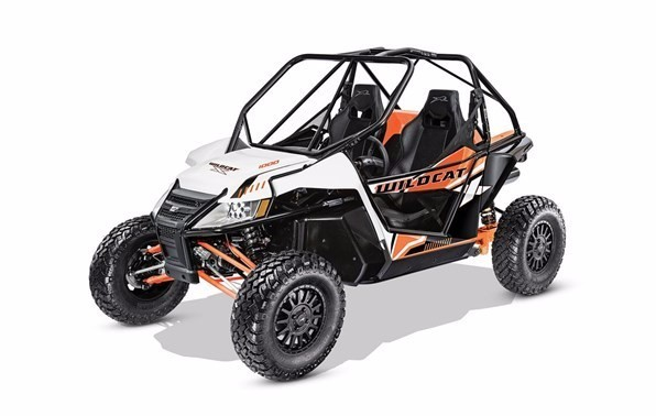 The 2017 Wildcat X from Arctic Cat with RG Pro suspension.