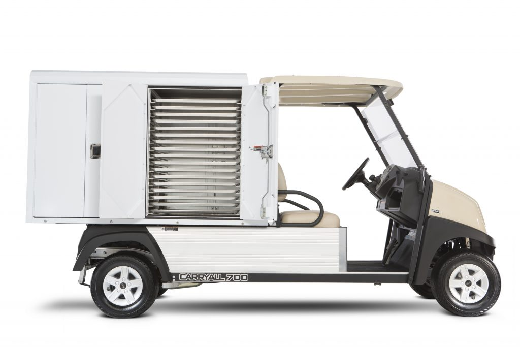 Club Car Carryall 700 Food Service Vehicle