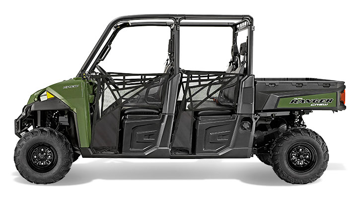 2015 Polaris Ranger Crew 900 Sage Green