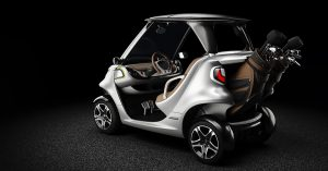 Garia Golf Car Mecedes-Benz Style