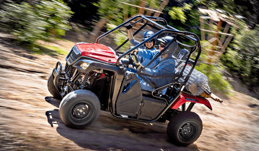 2018 Honda Pioneer 500 utility vehicle