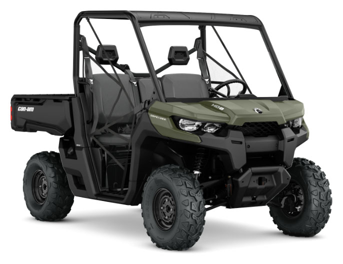 2019 Can-Am Defender HD8 help drive BRP quarterly results