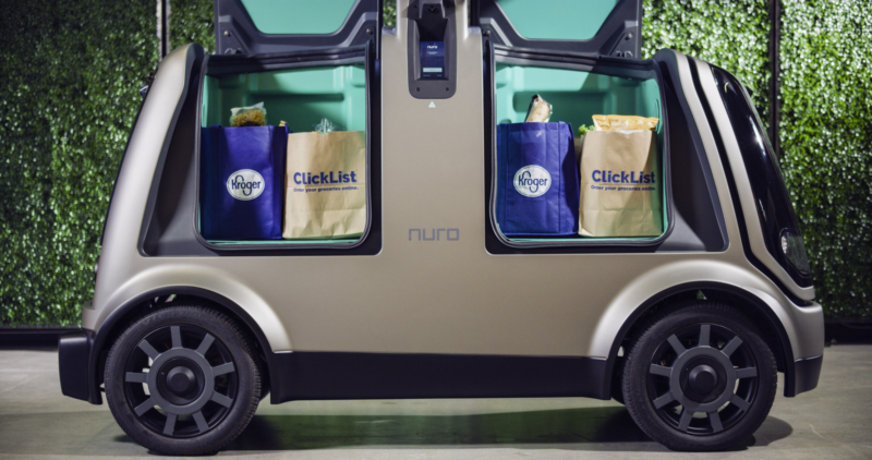 Nuro autonomous vehicle