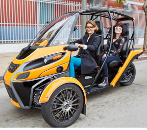 Arcimoto Fun Utility Vehicle - FUV
