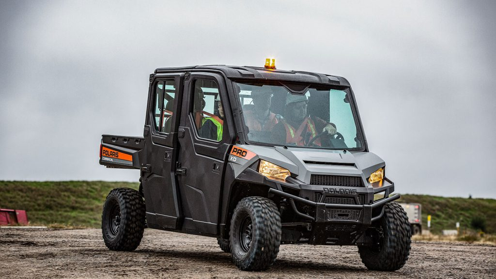 Polaris PRO XD 400D AWD utility Vehicle