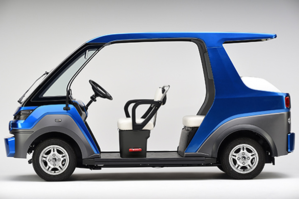 fuel cell powered urban mobility vehicle