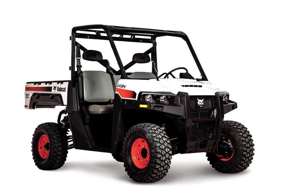 Diesel powered Bobcat UV34 utility vehicle