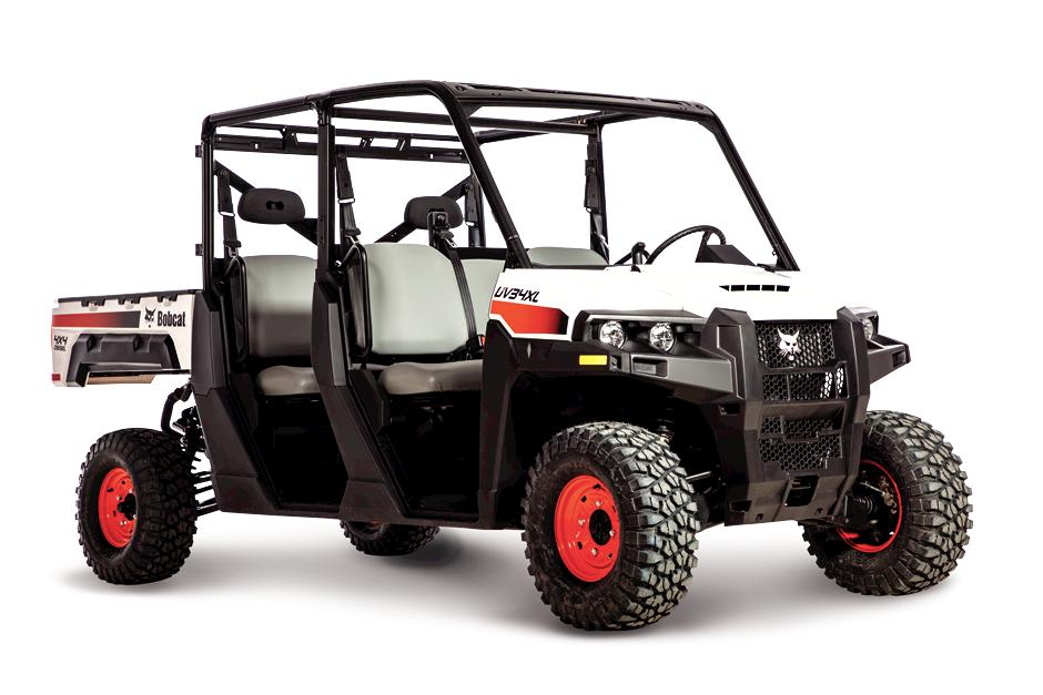 Diesel powered Bobcat UV34XL utility vehicle