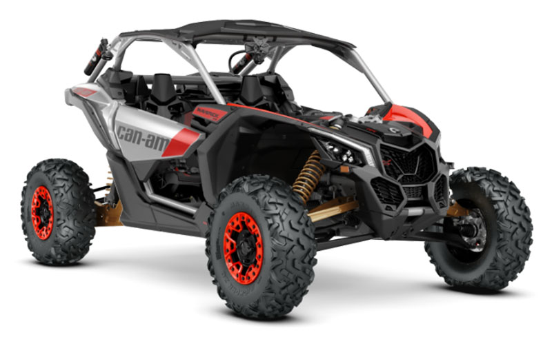 The new 2020 Maverick X3 X rs Turbo RR with a 195 hp engine