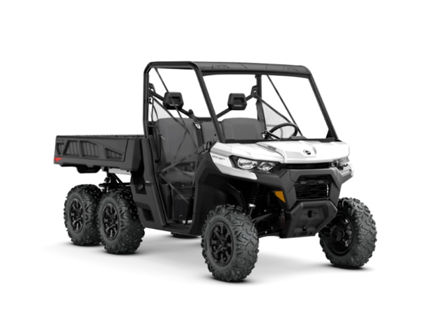 Can-Am Defender 6x6 DPS is a new addition for 2020.