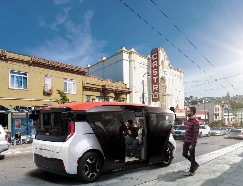 Cruise Origin offers mobility through autonomous driving