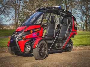 Arcimoto Rapid Responder electric-powered three-wheeler