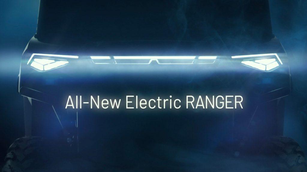 Polaris Ranger electric UTV developed in partnership with Zero Motorcycles