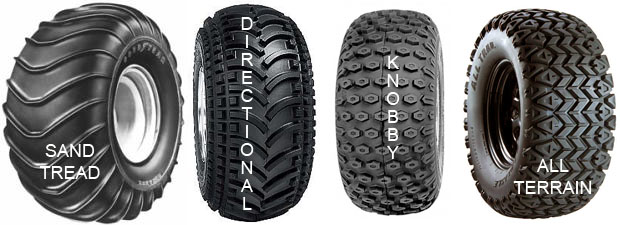 all-terrain tire tread