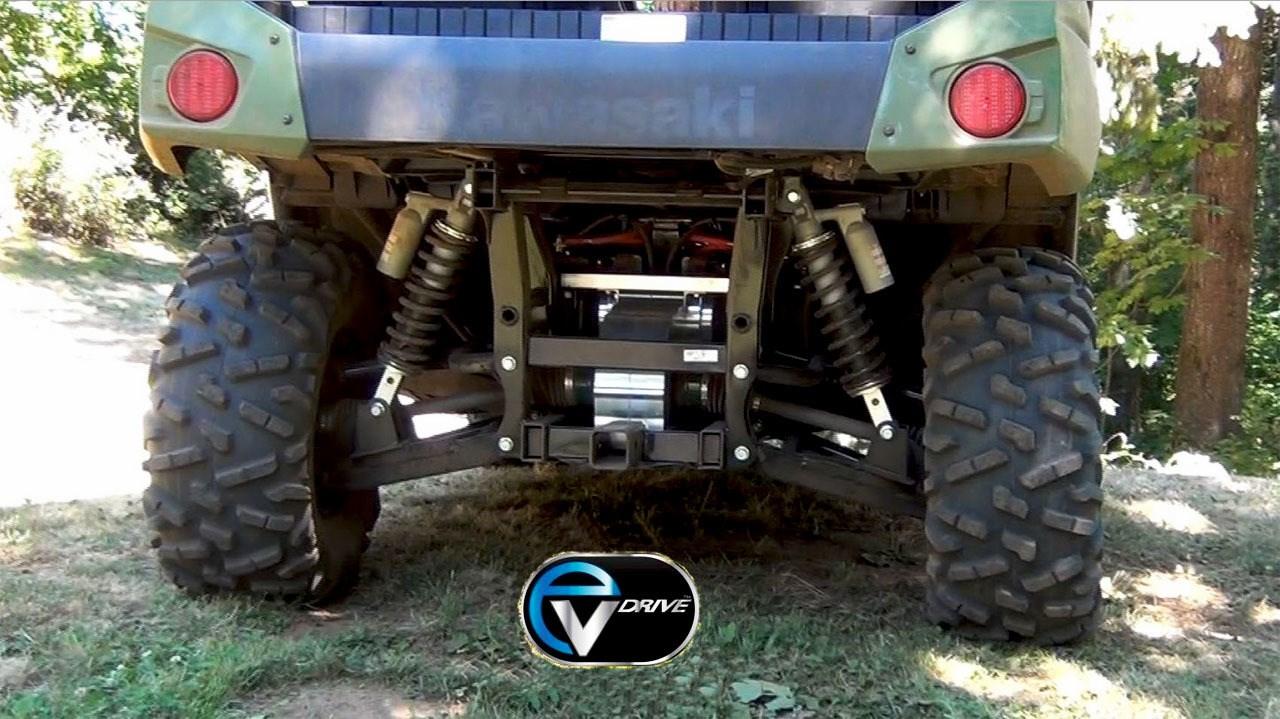 Kawasaki Teryx4 w/EVDrive Terra Torque Drive